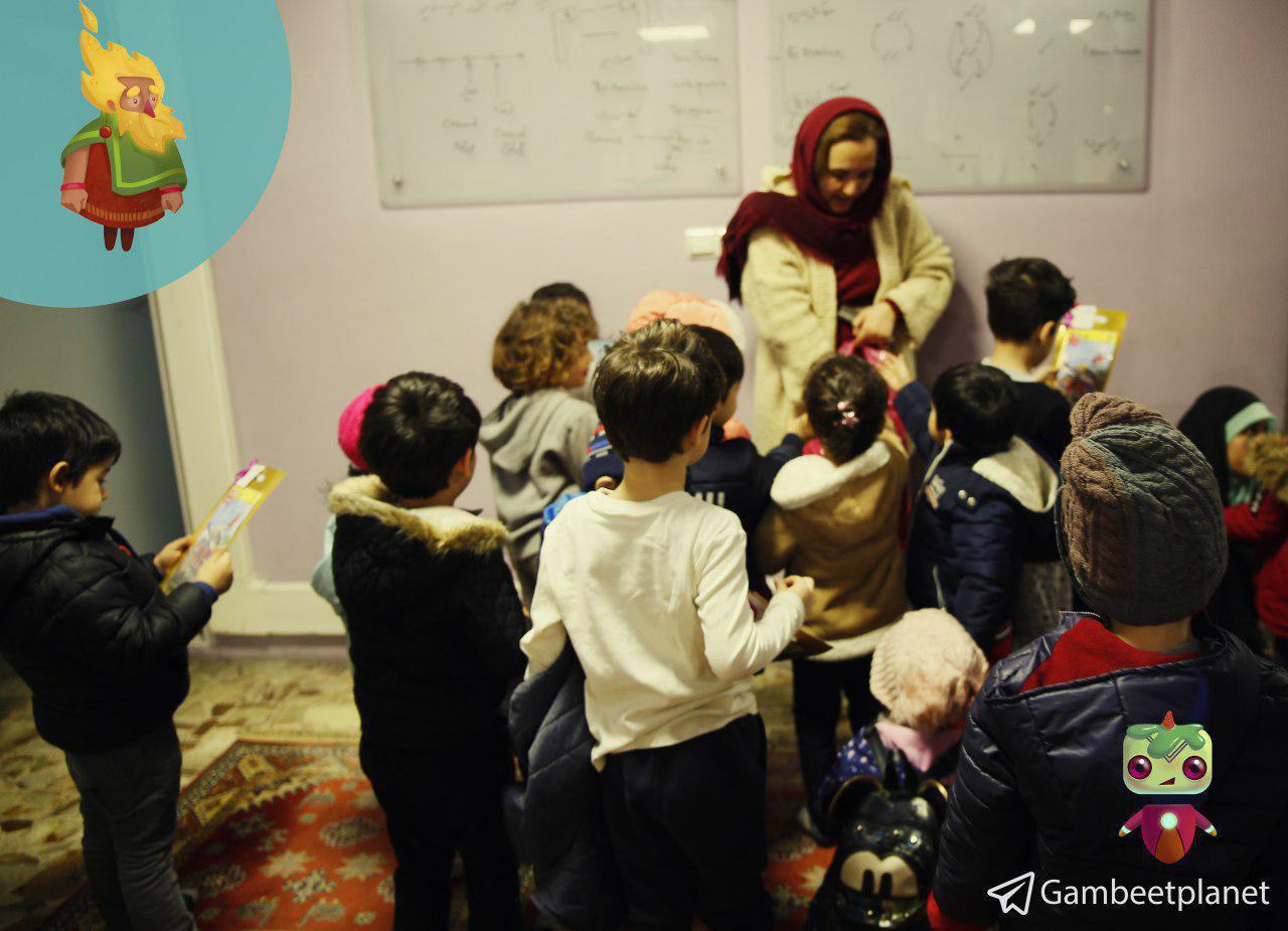 بازدید بچههای آوند از سیاره گامبیت