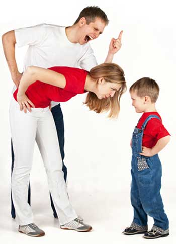 بدرفتاری والدین با کودکان